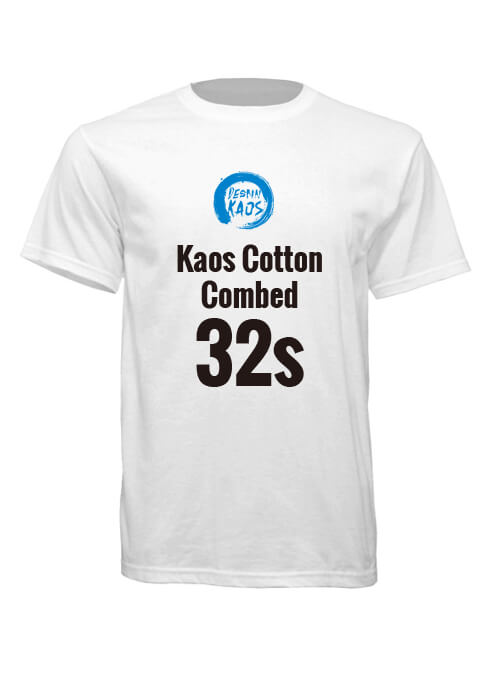 Kaos Cotton Combed 32s