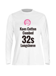 Wooman Kaos Cotton Combed 32s Longsleeve