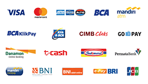 Card Payment / Bank Transfer / Direct Debit / e-Wallet / Over the Counter /